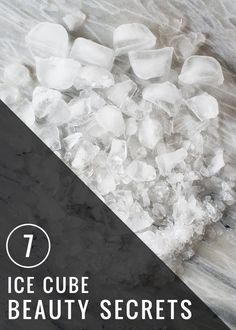 7 Ice Beauty Secrets | HelloGlow.co