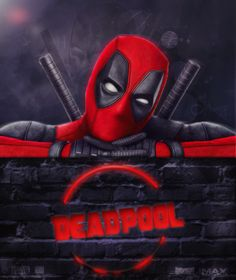 #Deadpool #Fan #Art. (Deadpool Poster) By:Sayf2Designs. (THE * 5 * STÅR * ÅWARD * OF: * AW YEAH, IT'S MAJOR ÅWESOMENESS!!!™)[THANK U 4 PINNING!!!<·><]<©>ÅÅÅ+(OB4E)(THIS IS TOTALLY ME, ABOUT LIFE!)