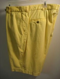 bcd7a91cbd Mens Vintage Brooks Brothers Golf Shorts Size 36 Yellow Corduroy  #BrooksBrothers