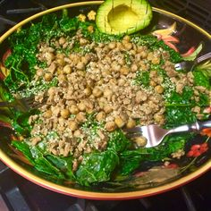 bacon kale salad