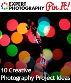10 Creative Photography Project Ideas - new ones to consider now that i've finished my LifePics 365 project. =)