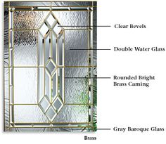 Therma Tru Doors Saratoga Decorative Glass Other Doors