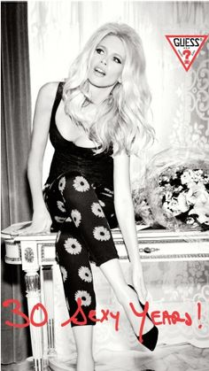 Claudia Schiffer for Guess - Guess girls are gorgeous!!