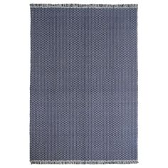 IKEA FASTERHOLT Rug, flatwoven Handmade dark blue cm Handwoven by skilled craftspeople, and therefore unique. Dark Blue, Blue And White, Professional Carpet Cleaning, Blue Carpet, Zig Zag Pattern, How To Clean Carpet, Rugs In Living Room, Woven Rug