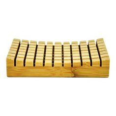 Tasman Soap Dish Bamboo Bathroom, Wood Bathroom, Soap Cutter, Wooden Soap Dish, Soap Packing, Savon Soap, Soap Shop, Shower Accessories, Soap Holder