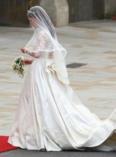 Kate Middleton wedding day... arrives at Westminster Abbey on 29.04. 2011 in London, England to marry Britain's Prince William
