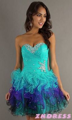 I love this prom dress its beautiful and colorful :) <3