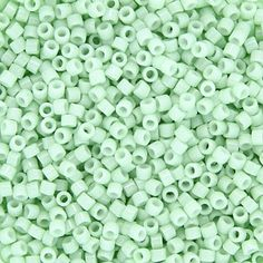 Size 11 Opaque Cool Mint Delica Beads - DB1496 | Fusion Beads