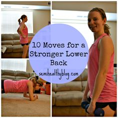 10 Moves for a Strong Lower Back