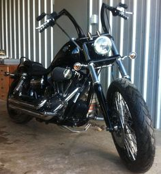 Dyna Wide Glide with custom apes