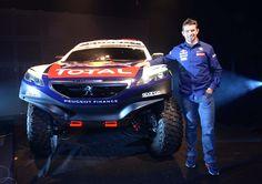 El team #Peugeot2008DKR se presentó en Argentina.