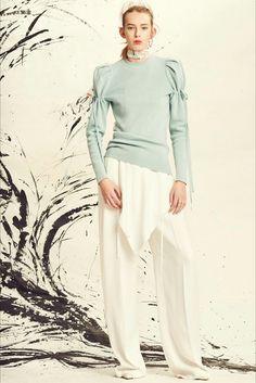 Collezione Primavera/Estate 2017 ADEAM: maglia molto interessante, pantaloni improponibili