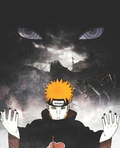 Pain, Yahiro. Akatsuki member. Naruto. Rinnegan. Amegakure.