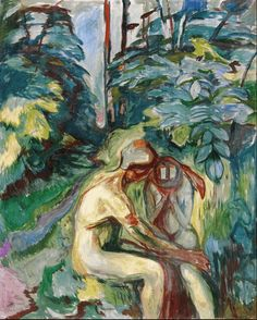 Consolation in the Forest 1925. Edward Munch (1863-1944)