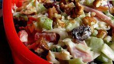 Ham-Cole Slaw Salad