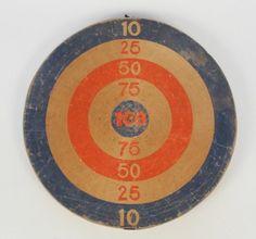 Vintage Dart Board, $75