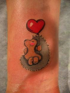 Hedgehog, Tattoo Style,  Definitely something I see my sister doing haha