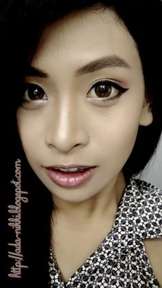 Color Contact Lenses: Dolly Eye Puffy Three Tones Brown