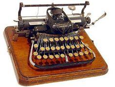 "Blickensderfer ""Blick No. 7"" typewriter, 1897"