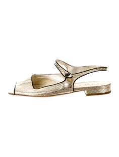 Prada Gold Snake Peep-Toe Sandals Consignment Online, Luxury Consignment, Buy Shoes, Prada, Snake, Peep Toe, Loafers, Sandals, Gold