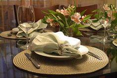 Dicas para a decoração de um jantar em casa!