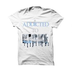 Addicted To Kicks Wolf Grey Foams White T Shirt. The Addicted To Kicks Wolf  Grey 5b76ae788