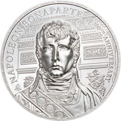 This unique and special edition Napoleon coin is a fitting tribute to the 200th Anniversary of his passing. Very few leaders in world history have had such an impact. What would the world look like if he would have won at Waterloo? This coin is issued by the island of Saint Helena, a British territory located in the South Atlantic Ocean 1,870 km away from the coast of South Africa. It is here where Napoleon spent the last 6 years of his life living in exile. Napoleon, English Newspapers, St Helena, Proof Coins, World History, Silver Coins, 6 Years, Anniversary, Atlantic Ocean