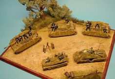 Model Tanks, Military Diorama, Figure Model, Scale Models, Modeling, Action Figures, Painting, Art, Dioramas
