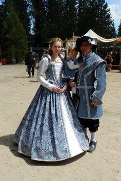 Custom Renaissance Costumes for Men, Women, Kids & Babies by EZorangeDesign. $450.00, via Etsy.