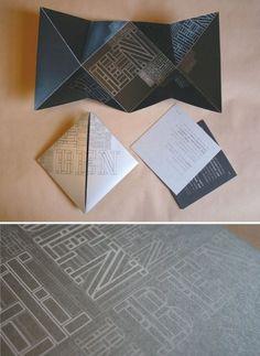 enveloppe origami
