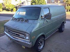Dodge Van, Old School Vans, Vintage Vans, Custom Vans, Kustom, Trucks, Bike, Cars, Pickup Trucks