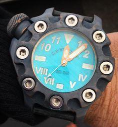 Ocean dial. Kaventsmann dive watch.