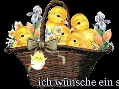 Ostergruß für dich.. Frohe Ostern-Happy Easter - YouTube