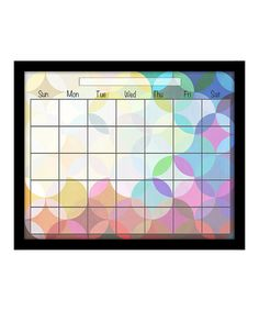 Take a look at this Circles Monthly Memo Board by PTM Images on #zulily today! $29.99, usually 80.00