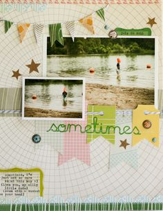 layout by Lisa Truesdell (@gluestickgirl) featuring COUNTRYSIDE