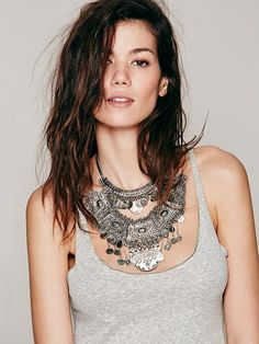 Goldbarr Tulum Statement Collar at Free People Clothing Boutique