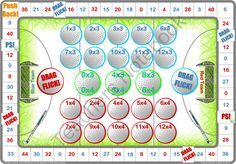 18 Hockey Times Tables And Division Games from Let Me Learn on TeachersNotebook.com -  (180 pages)  - 18 Hockey themed times tables and division tables board games to print and play.  Inspired by reluctant and struggling learners who love games and sport!  Preview contains a complimentary game.