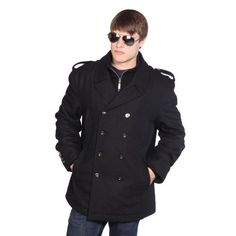 Wilda Mens Military Wool Peacoat w/ Chest Pockets-4X Big-Black Wilda, http://www.amazon.com/dp/B009YOQ5F2/ref=cm_sw_r_pi_dp_nCvLrb08BTGD9
