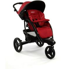 The Graco stroller TREKKO completo is a 3 wheel all terrain comes with an adjustable hood to protect baby from the elements.