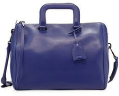 3.1 Phillip Lim Wednesday Medium Boston Satchel Bag, Ultramarine on shopstyle.com