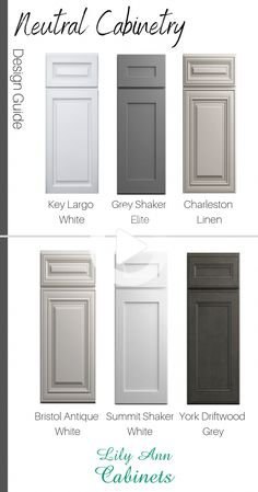 Neutral Cabinet Colors at Lily Ann Cabinets! Get off box store pricing . , Shop Neutral Cabinet Colors at Lily Ann Cabinets! Get off box store pricing . , Shop Neutral Cabinet Colors at Lily Ann Cabinets! Get off box store pricing . Lily Ann Cabinets, Rta Kitchen Cabinets, Kitchen Cabinet Colors, Diy Kitchen, Awesome Kitchen, Kitchen Layout, Kitchen Hacks, Kitchen Modern, Modern Farmhouse