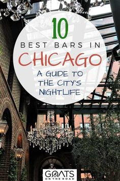 Looking for the best places to eat and drink in Chicago? Well here they are! Here's all the best Chicago cocktails spots and craft beer bars - a visit to these places is definitely one of the best things to do in Chicago World Travel Guide, Travel Guides, Travel Advice, Travel Tips, Visit Chicago, Chicago Travel, Chicago Bars, Travel Crafts, Us Destinations