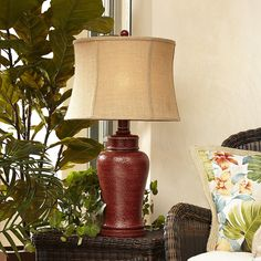 Outdoor Tuscan Table Lamp