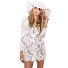Women Summer Lace Dress Shirt Spring V Neck Vintage Vestidos Black Sexy Robe Dollar Price Clothing Bodycon Dresses Sundress ALX-MDINI - Brides & Bridesmaids - Wedding, Bridal, Prom, Formal Gown