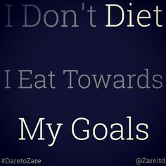 """Even Eating Poorly Is Dieting. Eat Healthy