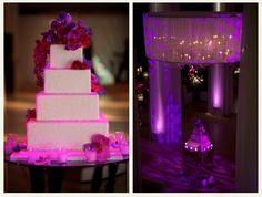 Purple lighting - Wedding – Simply Perfect!