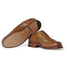 GrensonStanley Leather Wingtip Brogues