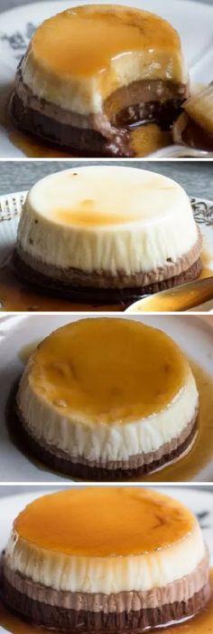 Se ve súper fácil este FLAN 3 CHOCOLATES sin horno, sin huevo y quedan muy cremosos!! #flan #flanchocolate #sinhorno #sinhuevo #flanes #pudin #caramelo #budin #caramel #postres #cakes #pan #panfrances #panettone #panes #pantone #pan #recetas #recipe #casero #torta #tartas #pastel #nestlecocina #bizcocho #bizcochuelo #tasty #cocina #chocolate Si te gusta dinos HOLA y dale a Me Gusta MIREN