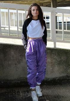One off 80's retro Jogging bottoms tracksuit