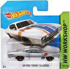 Hot Wheels Hw Workshop '69 Ford Torino Talladega - 235/25...
